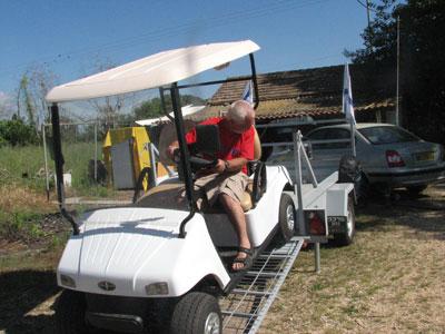 מגה וברק קלנועית גולף   קלנעיות גולף   קולנעיות גולף   קולנועית גולף רכב תפעולי CT-07